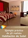 Video2Brain: Ejemplo práctico de 3D realista. Habitación de hotel – Render de arquitectura interior con 3ds Max y V-Ray 2 – Esteban Lahoz [Videotutorial]