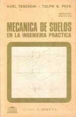 Mecánica de suelos en la Ingeniería Práctica (Segunda Edición) – Karl Terzaghi, Ralph B. Peck [PDF]