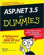 ASP.NET 3.5 for Dummies – Ken Cox [PDF] [English]