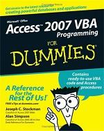 Access 2007 VBA Programming for Dummies – Joshep C. Stockman, Alan Simpson [PDF] [English]