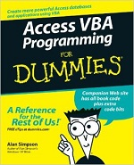 Access VBA Programming for Dummies – Alan Simpson [PDF] [English]