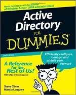 Active Directory for Dummies (2nd Edition) – Steve Clines, Marcia Loughry [PDF] [English]
