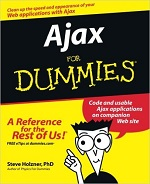 Ajax for Dummies – Steve Holzner [PDF] [English]