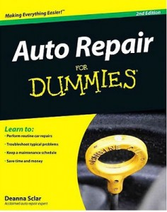 Auto Repair for Dummies (2nd Edition) – Deanna Sclar, John O'Dell, Technical Advisor [PDF] [English]