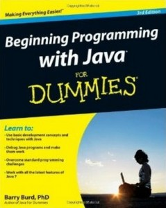 Beginning Programming with Java for Dummies (2nd Edition) – Barry Burd [PDF] [English]