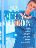 Vogue Knitting – The American Collection [PDF]