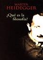 ¿Qué es la filosofía?  – Martin Heidegger [PDF]