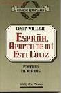 España, aparta de mi este cáliz – César Vallejo [PDF]