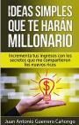 Ideas simples que te harán millonario: Aumenta tus ingresos con los secretos que me compartieron los nuevos ricos – Juan Antonio Guerrero Cañongo [PDF]