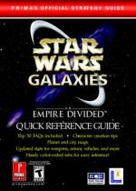 Star Wars Galaxies: An Empire Divided Quick Reference Guide [PDF] [English]