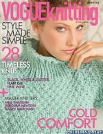 Vogue Knitting International Magazine – Holiday, 2014 [PDF]