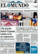 El Mundo + Suplementos – 25 Septiembre, 2015 [PDF]