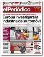 El Periódico de Cataluña – 25 Septiembre, 2015 [PDF]