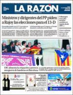 La Razón + Suplementos – 25 Septiembre, 2015 [PDF]
