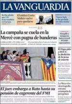La Vanguardia – 25 Septiembre, 2015 [PDF]
