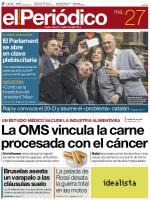 El Periódico de Cataluña + Suplementos – 27 Octubre, 2015 [PDF]