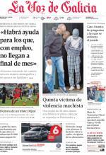 La Voz de Galicia – 25 de Octubre, 2015 [PDF]