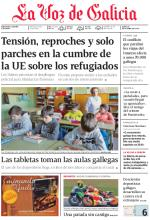 La Voz de Galicia + Suplementos – 26 Octubre, 2015 [PDF]