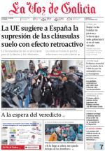 La Voz de Galicia + Suplementos – 27 Octubre, 2015 [PDF]