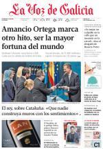 La Voz de Galicia + Suplementos – 24 Octubre, 2015 [PDF]