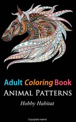 Adult Coloring Book: Animal Patterns – Hobby Habitat [PDF] [English]