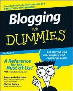 Blogging for Dummies (2nd Edition) – Susannah Gardner [PDF] [English]