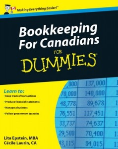 Bookkeeping For Canadians for Dummies – Lita Epstein, Cécile Laurin [PDF] [English]