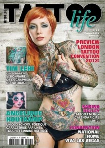 Tattoo Life #77 France September October, 2012 [PDF]