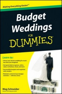 Budget Weddings for Dummies – Meg Schneider [PDF] [English]