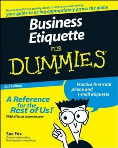 Business Etiquette for Dummies (2nd Edition) – Sue Fox [PDF] [English]