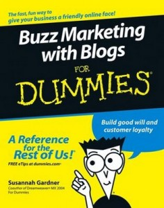 Buzz Marketing with Blogs for Dummies – Susannah Gardner [PDF] [English]