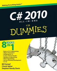 C# 2010 ALL-IN-ONE for Dummies – Bill Sempf, Chuck Sphar, Stephen Randy Davis [PDF] [English]