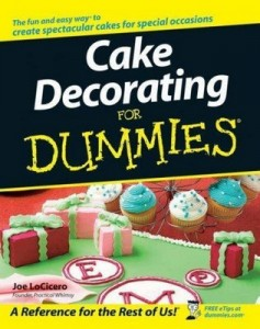 Cake Decorating for Dummies – Joe LoCicero [PDF] [English]