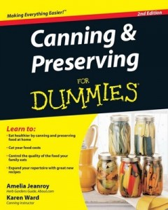 Canning & Preserving for Dummies (2nd Edition) – Amelia Jeanroy, Karen Ward [PDF] [English]