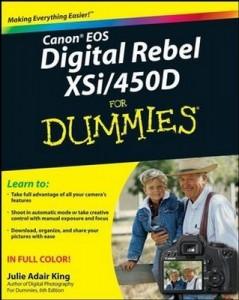 Canon EOS Digital Rebel XSi / 450D For Dummies – Julie Adair King [PDF] [English]