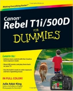 Canon EOS Rebel T1i / 500D For Dummies – Julie Adair King [PDF] [English]