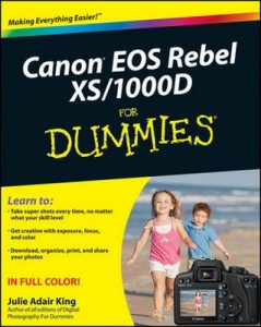 Canon EOS Rebel XS / 1000D For Dummies – Julie Adair King [PDF] [English]
