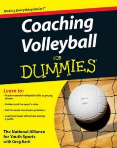 Coaching Volleyball for Dummies – National Alliance for Youth Sports, Greg Bach [PDF] [English]