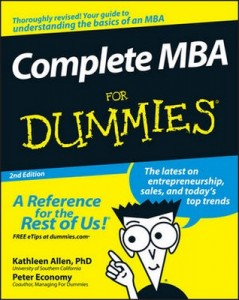 Complete MBA for Dummies (2nd Edition) – Kathleen Allen, Peter Economy [PDF] [English]