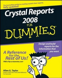 Crystal Reports 2008 for Dummies – Allen G. Taylor [PDF] [English]