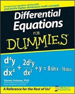 Differential Equations for Dummies – Steven Holzner [PDF] [English]