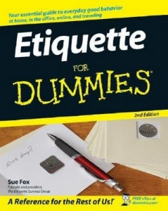 Etiquette for Dummies (2nd Edition) – Sue Fox [PDF] [English]