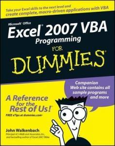 Excel 2007 VBA Programming for Dummies – John Walkenbach [PDF] [English]