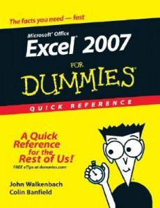 Excel 2007 for Dummies Quick Reference – John Walkenbach, Colin Banfield [PDF] [English]
