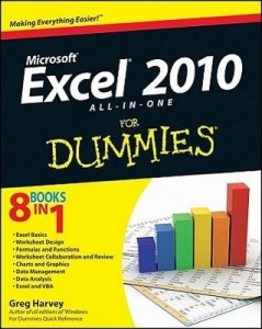 Excel 2010 ALL-IN-ONE for Dummies – Greg Harvey [PDF] [English]