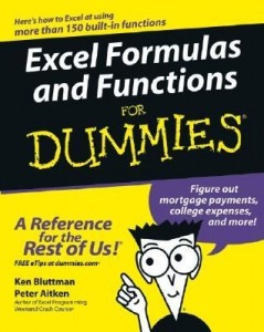 Excel Formulas and Functions for Dummies – Ken Bluttman, Peter G. Aitken [PDF] [English]