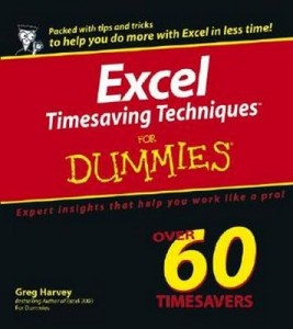 Excel Timesaving Techniques for Dummies – Greg Harvey [PDF] [English]