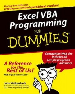 Excel VBA Programming for Dummies – John Walkenbach [PDF] [English]