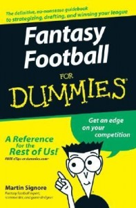 "Fantasy Football for Dummies – Martin ""Cyber Tuna"" Signore [PDF] [English]"