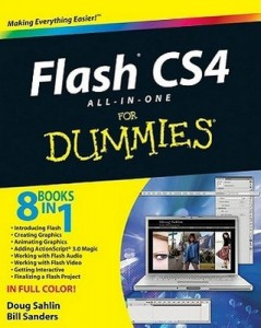 Flash CS4 ALL-IN-ONE for Dummies – Doug Sahlin, Bill Sanders [PDF] [English]